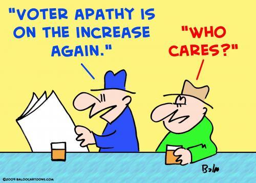 voters apathy essay