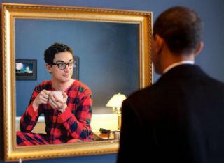 obama pyjama boy