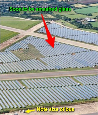 Farmers Told No More Handouts For Ugly Fields Of Solar