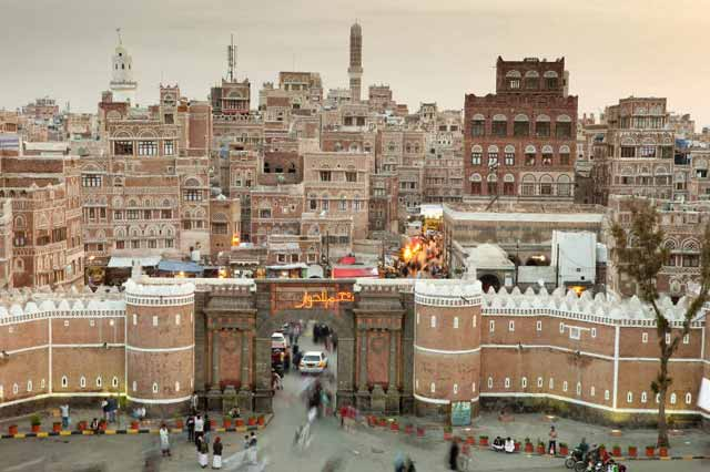 rebels in Yemen capital Sanaa have shelled president's home