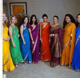 hindu womens dress